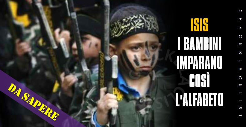 ISIS-BAMBINI-VOCABOLARIO